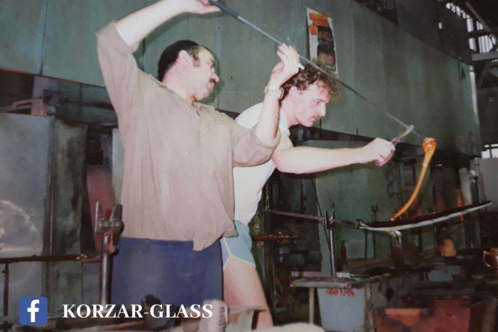 Korzár Glass, Miroslav Košler