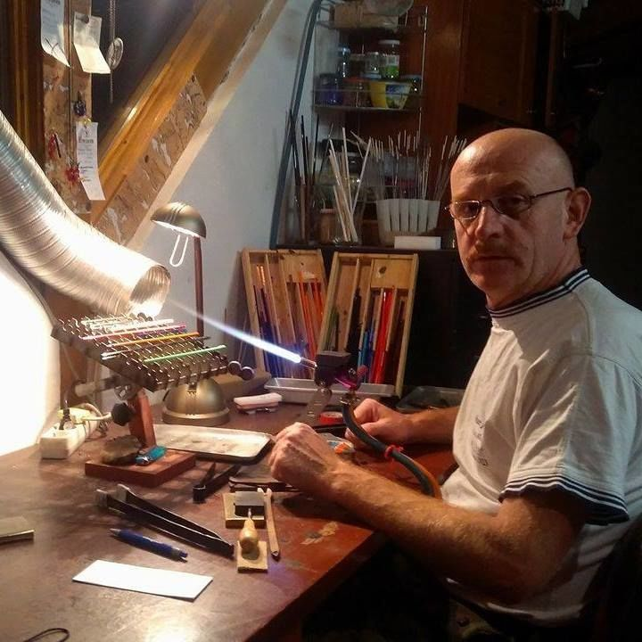 Miroslav Košler, výroba skleněných figurek